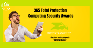Hornetsecurity - 365 Total Protection premiato con il Computing Security Award 2020